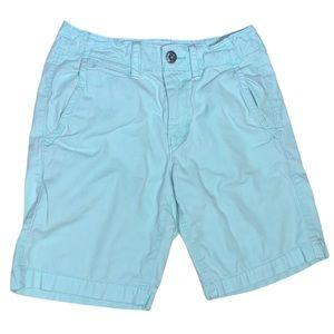 American Eagle Men's Mint Green Prep Shorts Sz 26